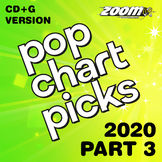 Zoom Karaoke Pop Chart Picks 2020 - Part 3 (CD+G)