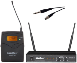 MadBoy® AIRSET 4 wireless microphone set for instrument