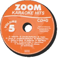 Zoom Karaoke Hits - Volume 05 CDG
