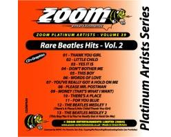 Zoom Karaoke Platinum Artists: Rare Beatles Hits Vol.2 (CD+G)