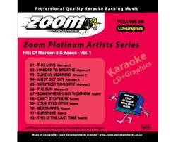 Platinum Artists: Maroon 5 & Keane Vol.1