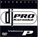 DVD Picto Music Dj Pro Karaoke Vol.P
