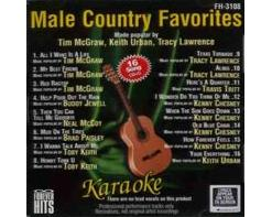 Male Country Favorites