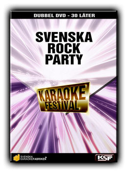 SVENSKA ROCK PARTY (2 DVD)