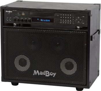 MadBoy® MINI MANIAC all-in-one karaoke system
