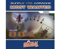 Sunfly Most Wanted 884 (CD+G)