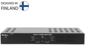 MadBoy® F-LOUD 370 digital power amplifier with optical input