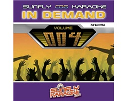 Sunfly In Demand 005 (CD+G)