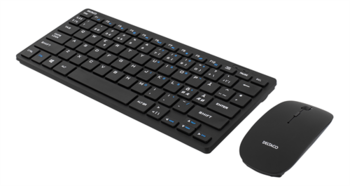 WIRELESS MINI KEYBOARD AND MOUSE (NORDIC) FOR STOCKER