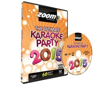 Zoom Ultimate Karaoke Party 2015 (2 DVDs)