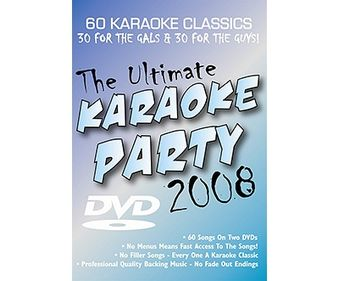 The Ultimate Karaoke Party 2008 (DVD)