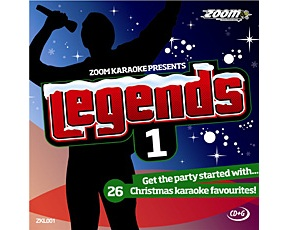 Zoom Karaoke Legends 1 (CD+G)