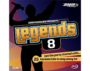 Zoom Karaoke Legends 8 (CD+G)