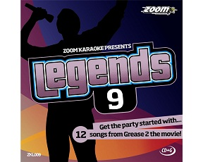 Zoom Karaoke Legends 9 (CD+G)