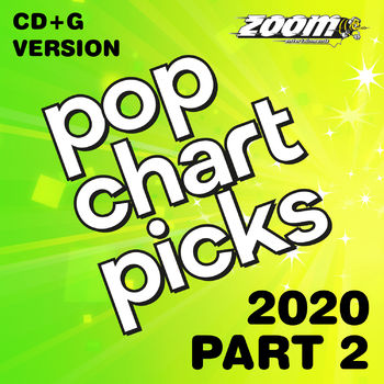 Zoom Karaoke Pop Chart Picks 2020 - Part 2 (CD+G)