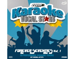 Zoom Karaoke Vocal Stars: Forever Seventies Vol.1 (CD+G)