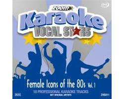 Vocal Stars: Female Icons Of The 80s Vol.1 (CDG)