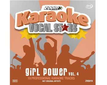 Zoom Vocal Stars - Girl Power Vol. 4 (CDG)
