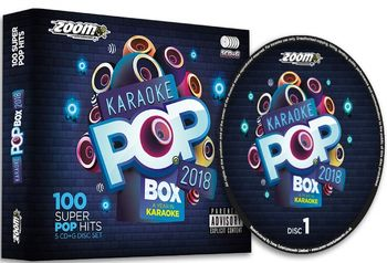 Zoom Pop Box 2018 - A Year In Party Pack (5 x CD+G)