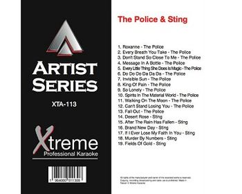 THE POLICE & STING (CD+G)
