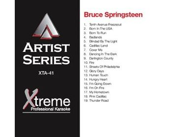 BRUCE SPRINGSTEEN (CD+G)