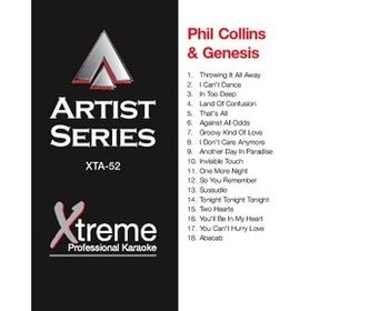 PHIL COLLINS & GENESIS (CD+G)