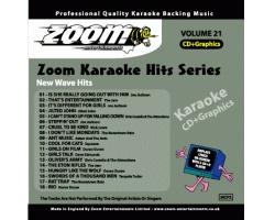 Zoom Karaoke Hits - Volume 21 (CDG)