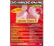 DVD KARAOKE KPM PRO VOL 04 « Jeunes Stars 2 »