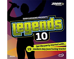 Zoom Karaoke Legends 10 (CDG)