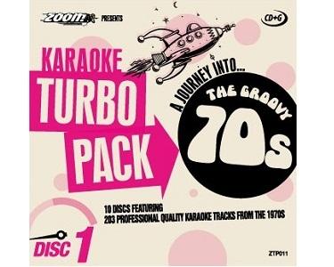 Zoom Karaoke 70s Turbo Pack (CDG)